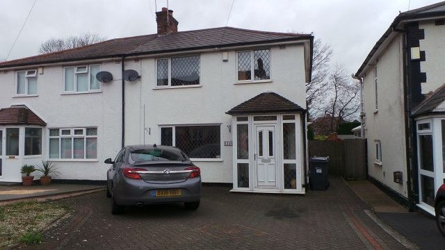Thumbnail Semi-detached house for sale in Jockey Road, Sutton Coldfield, West Midlands