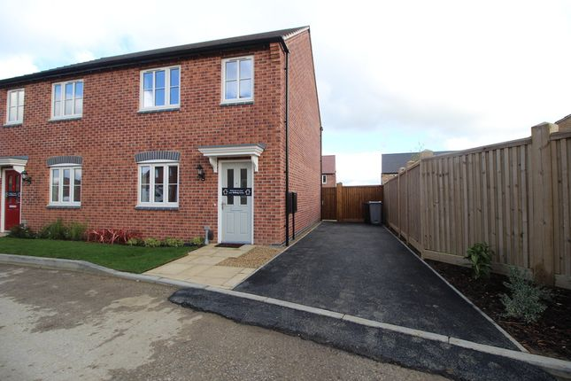 Thumbnail Semi-detached house to rent in Ludlow Gardens, Bellway Aspire 2 Development, Grantham