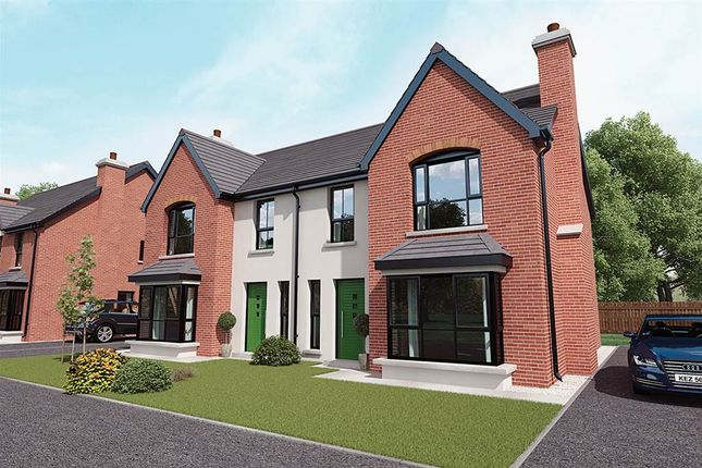 Thumbnail Semi-detached house for sale in 4, Royal Ascot Mews, Carryduff