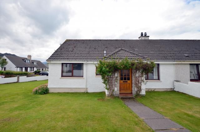 Thumbnail Semi-detached house for sale in 16 Burnside Terrace, Strath, Gairloch