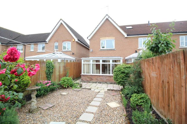 Thumbnail End terrace house for sale in Rushton Grove, Church Langley, Harlow