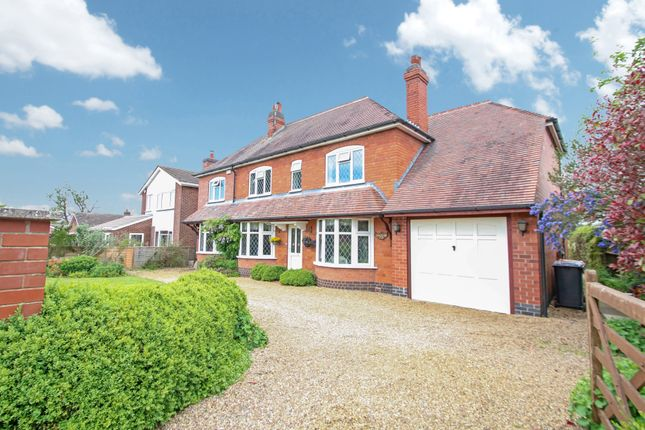 Thumbnail Detached house for sale in Tamworth Road, Fillongley, Coventry