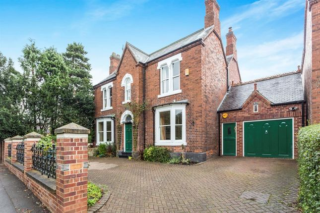 Thumbnail Detached house for sale in Egginton Road, Etwall, Derby
