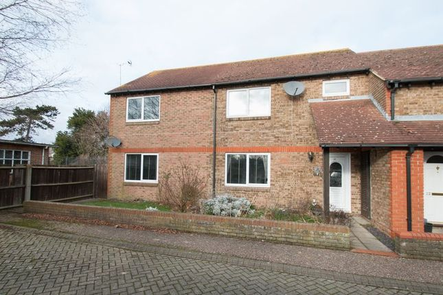 Thumbnail Terraced house for sale in Martlet Close, Chichester