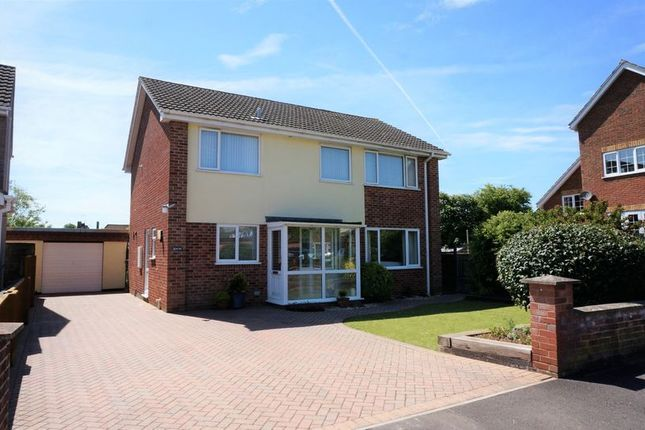 Thumbnail Detached house for sale in Heathfield Drive, Monkton Heathfield, Taunton