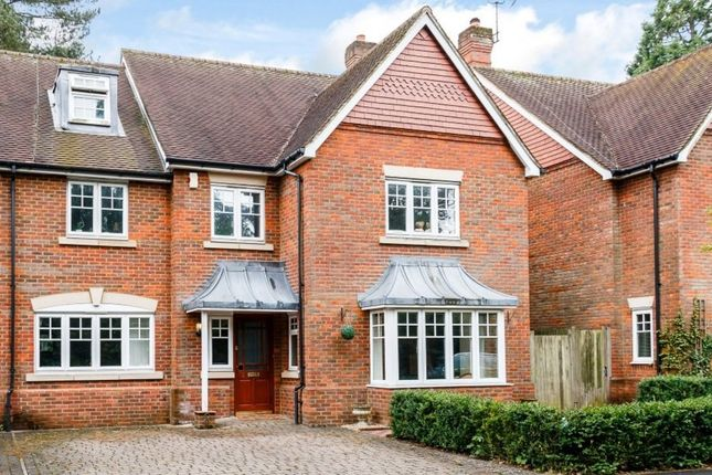 Thumbnail Semi-detached house for sale in Highlands, Newbury