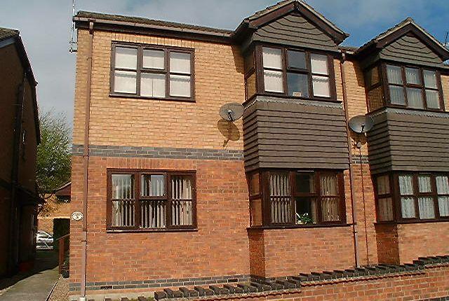 Thumbnail Maisonette to rent in Hallcroft Court, Croft Avenue, Hucknall, Nottingham