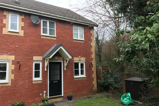 Thumbnail End terrace house for sale in Heol Gwendoline, Barry