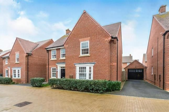 Thumbnail Detached house for sale in Little Beanhills, Marston Moretaine, Bedford, Bedfordshire
