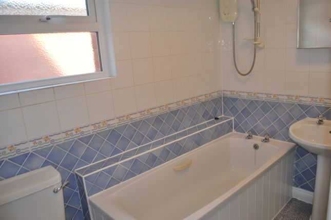 Bathroom  of Halsdon Road, Exmouth EX8