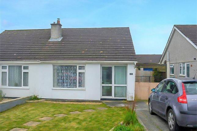 Thumbnail Semi-detached bungalow for sale in Pendeen Road, Threemilestone, Truro, Cornwall