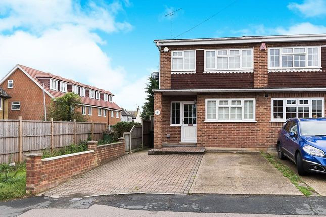 Thumbnail Semi-detached house to rent in Mill Road, Hawley, Dartford
