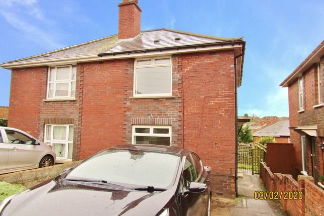 Thumbnail Semi-detached house to rent in Hurst Ave, Exeter