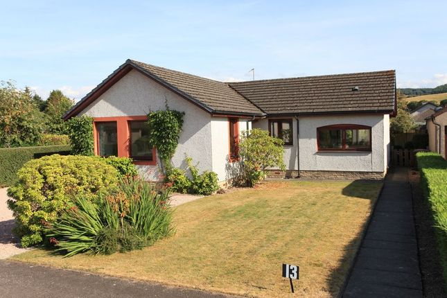 Thumbnail Detached bungalow for sale in Cowden Way, Comrie