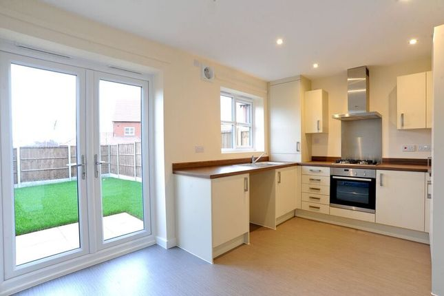 Thumbnail Terraced house for sale in Ling Road, Loughborough