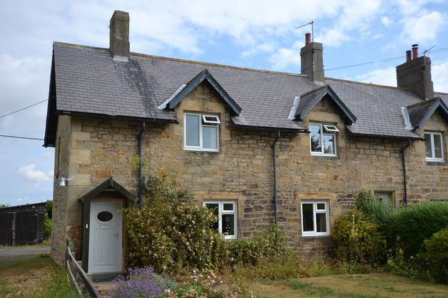 Thumbnail Cottage for sale in The Village, Acklington, Morpeth