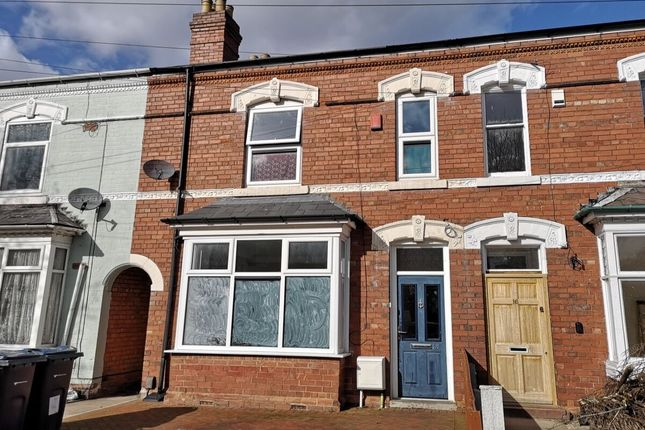 Thumbnail Terraced house for sale in Frederick Road, Stechford, Birmingham