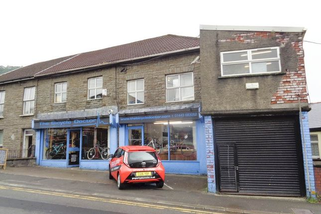 Thumbnail Retail premises for sale in Porth Street, Porth