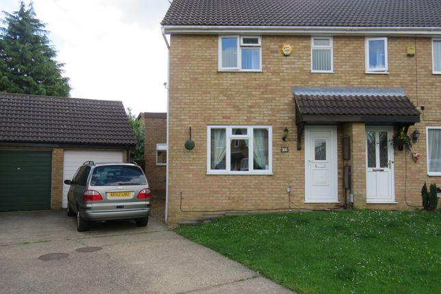 Thumbnail Semi-detached house for sale in Partridge Close, Luton