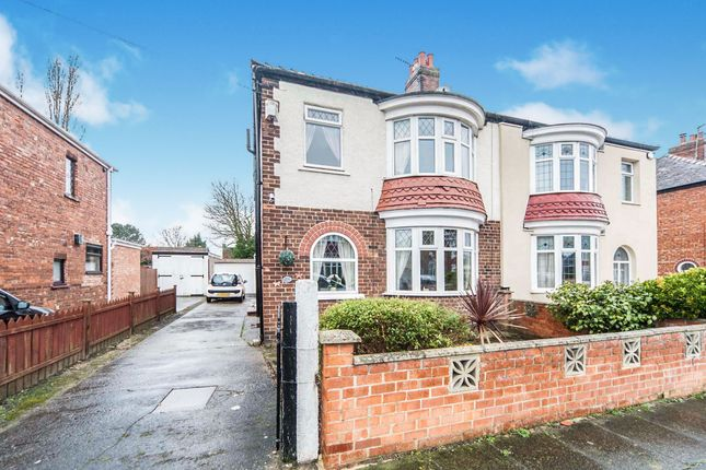 Thumbnail Semi-detached house for sale in Del Strother Avenue, Stockton-On-Tees