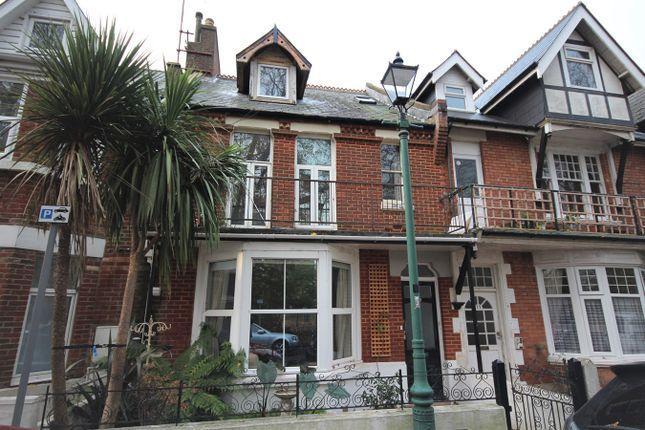 Thumbnail Maisonette for sale in Churchill Road, Bournemouth