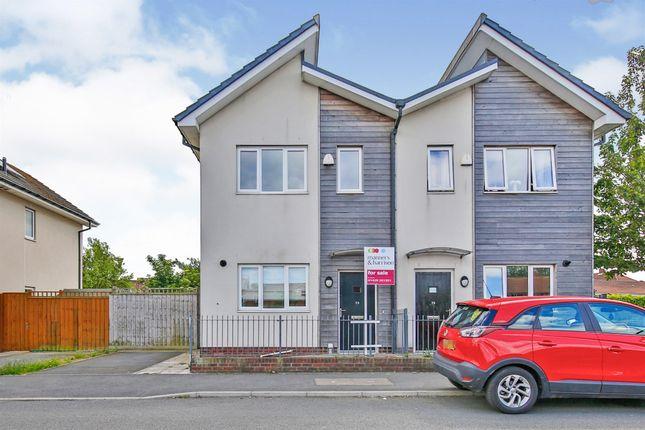 Thumbnail Semi-detached house for sale in Easington Road, Hartlepool