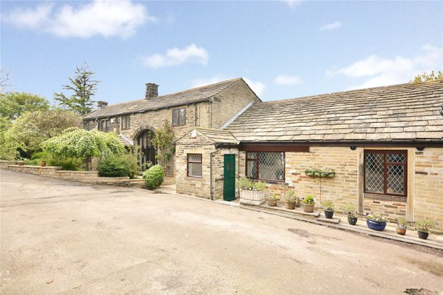 Thumbnail Detached house for sale in Carcase End Farm, High Busy Lane, Idle, Bradford, West Yorkshire