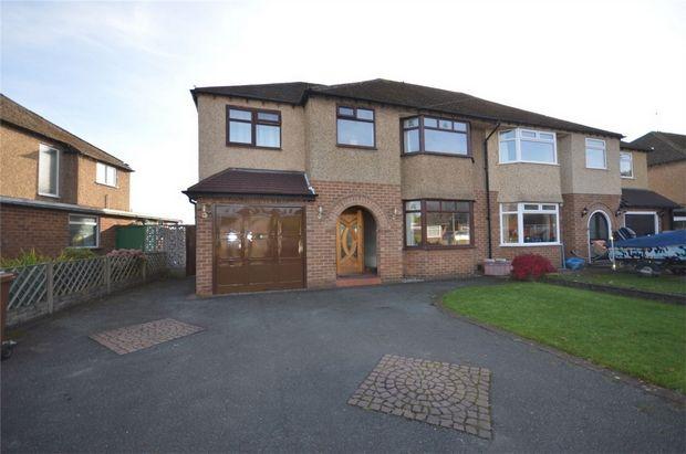Thumbnail Semi-detached house for sale in Millbut Close, Bebington, Merseyside