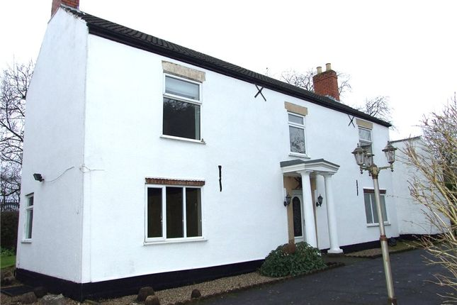 Thumbnail Detached house for sale in Storthfarm House, School Lane, South Normanton