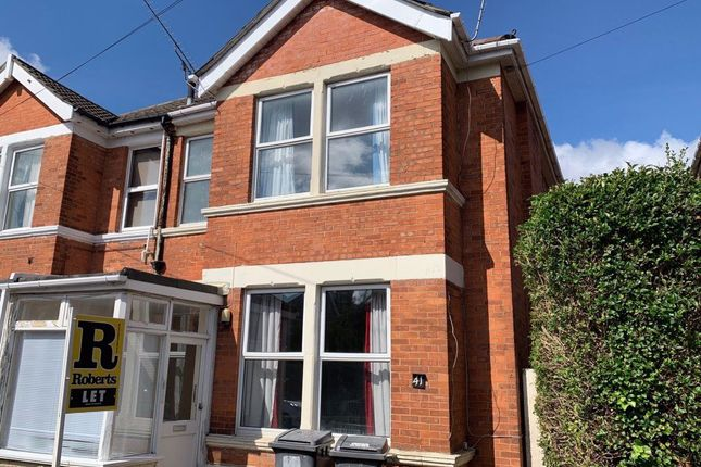 Thumbnail Property to rent in Fortescue Road, Winton, Bournemouth