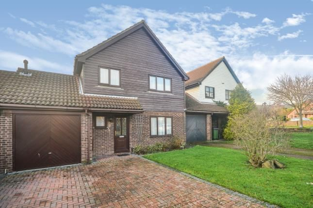 Thumbnail Link-detached house for sale in Middlemead, Folkestone, Kent
