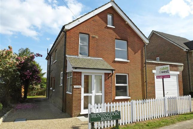 Thumbnail Detached house for sale in Huntingdon Road, Crowborough, East Sussex