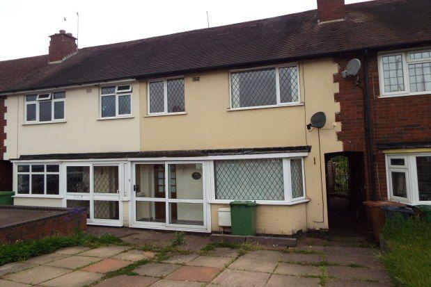 Thumbnail Property to rent in Pomeroy Road, Birmingham