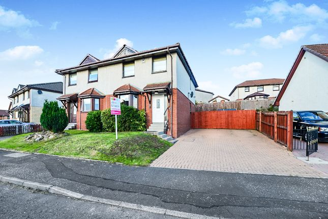 Thumbnail Semi-detached house for sale in Crieff Avenue, Chapelhall, Airdrie