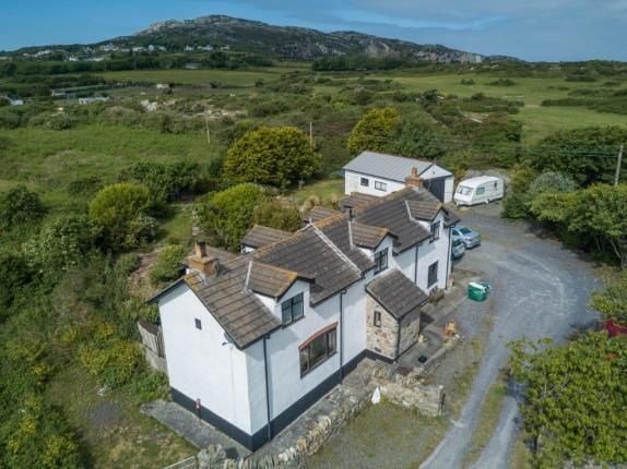 Thumbnail Detached house for sale in Mountain, Holyhead, Sir Ynys Mon