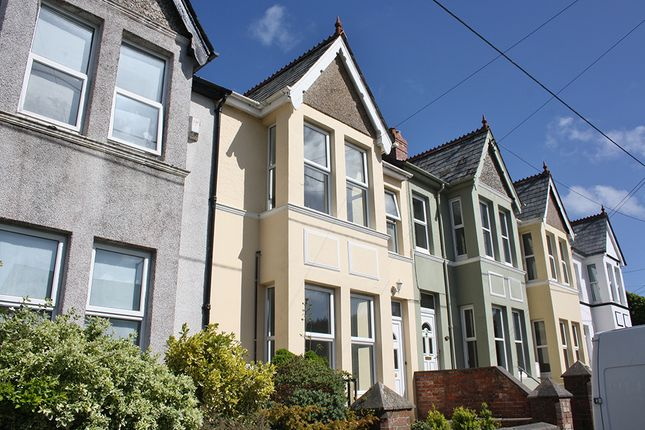 Thumbnail Terraced house to rent in Dunheved Road, Launceston