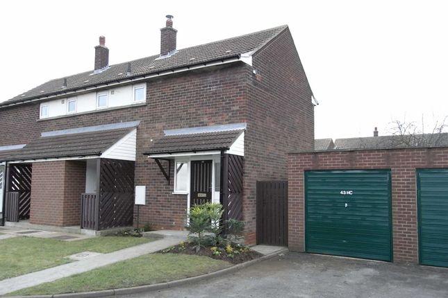 Thumbnail Semi-detached house to rent in Henlow Close, Kirton Lindsey, Gainsborough