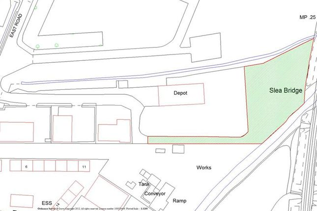 Thumbnail Commercial property to let in Storage Compound, Oak Park, East Road, Sleaford, Lincolnshire