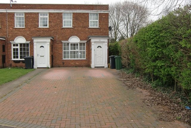 Thumbnail End terrace house to rent in Wolsey Way, Syston, Leicester