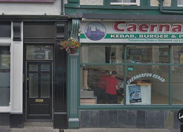 1 bed flat to rent in Bridge Street, Flat 2, Caernarfon LL55