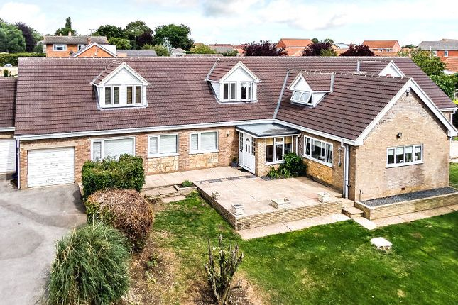 Thumbnail Detached house for sale in Fiskerton Road East, Cherry Willingham, Lincoln