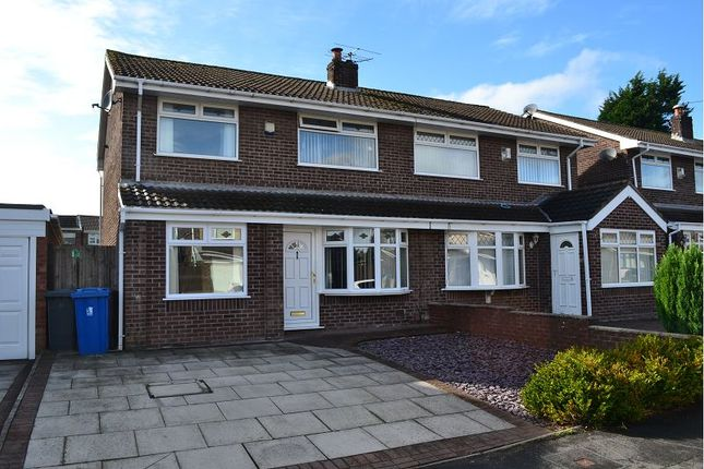 Thumbnail Semi-detached house for sale in Raithby Drive, Hawkley Hall, Wigan