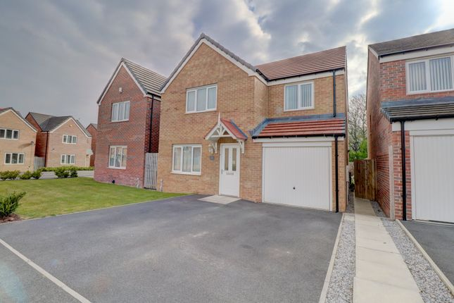 Thumbnail Detached house for sale in Clearwell Place, Bedlington