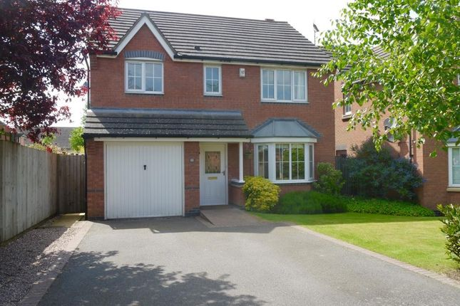 Thumbnail Detached house for sale in Dennis David Close, Lutterworth