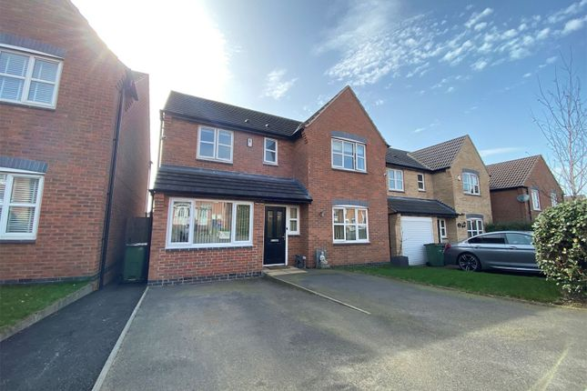 Thumbnail Detached house for sale in Pipistrelle Way, Oadby, Leicester