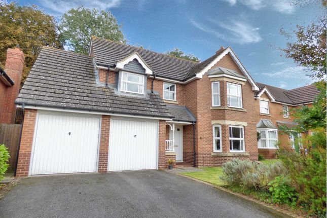 Thumbnail Detached house for sale in Suthern Close, Oakham