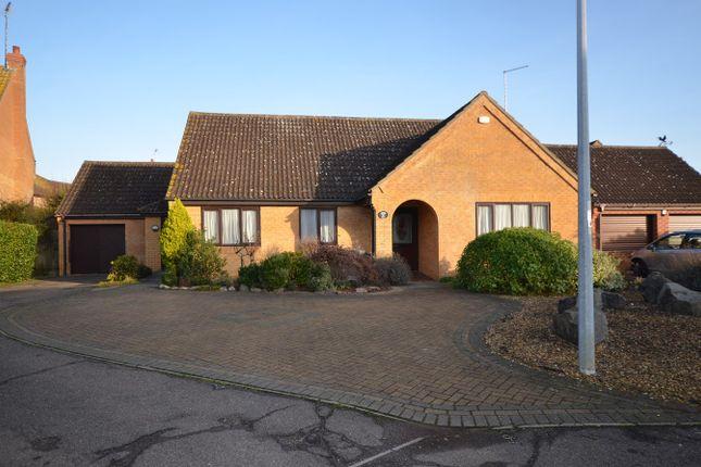 Thumbnail Detached bungalow to rent in Lingwood Park, Peterborough
