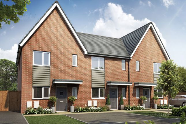 Thumbnail Semi-detached house for sale in Plot 133 The Mirin, Egstow Park, Off Derby Road, Clay Cross, Chesterfield