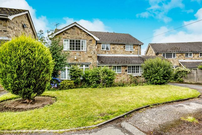 Thumbnail Detached house for sale in Meadow Court, Clifton, Brighouse
