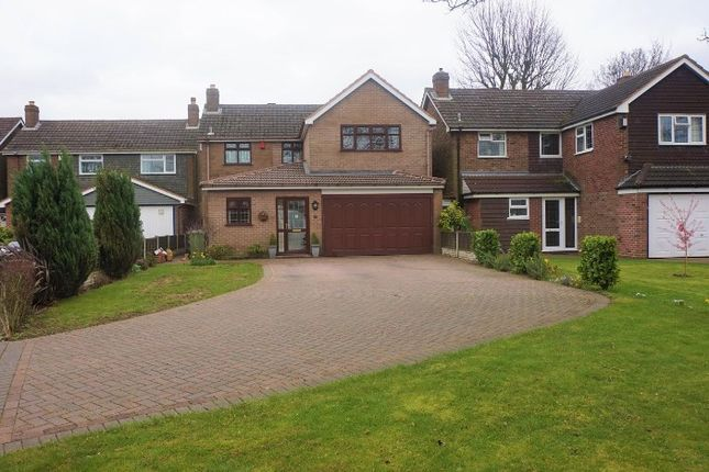 Thumbnail Detached house for sale in Fernleigh Road, Walsall